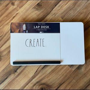"Rae Dunn Lap Desk ""Create"""